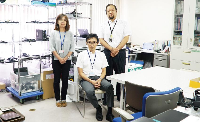 情報センター事務室